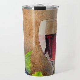 Red wine Travel Mug