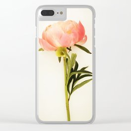 single simplicty Clear iPhone Case