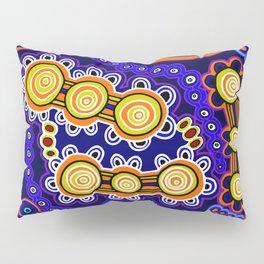 Authentic Aboriginal Art - Yugarabul Gathering Pillow Sham