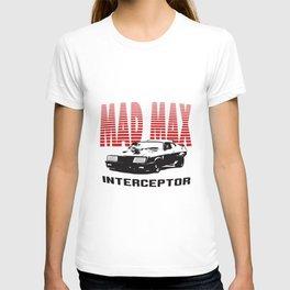 Max Mfp Interceptor Retro Movie V8 Car Pursuit Car T-Shirts T-shirt