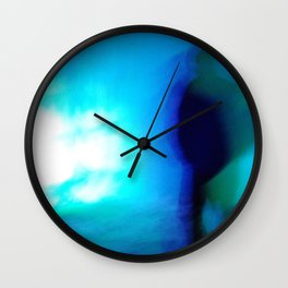 Ice Walker Wall Clock