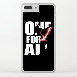 One For All Clear iPhone Case