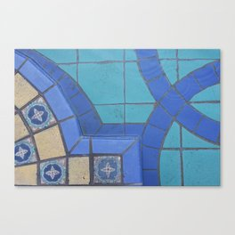 Malaysian Tiles Canvas Print