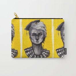 Seen in Yellow Carry-All Pouch