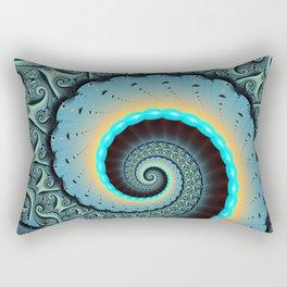 The Mother of All, Abstract Fractal Art Rectangular Pillow