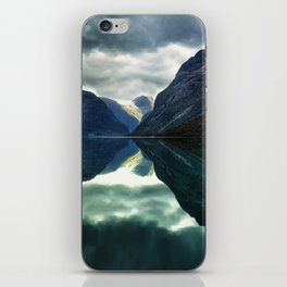 Mountains, Fjords and Glaciers - Norway iPhone Skin