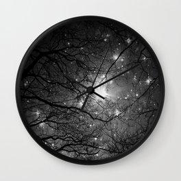 Starry Night Sky 3 Wall Clock