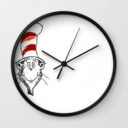 Everything i need to know copy Wall Clock
