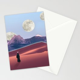 The cosmic nomad Stationery Cards