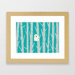 Lonesome Koala Framed Art Print