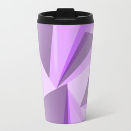 Meditation - Purple Abstract Travel Mug