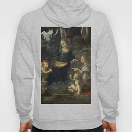 "Leonardo da Vinci ""The Virgin of the Rocks"" (Louvre) Hoody"