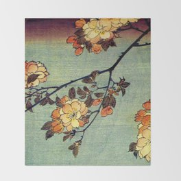 Springtime In Japan, Thinking Of You Throw Blanket