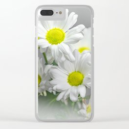 Chrysanths Clear iPhone Case