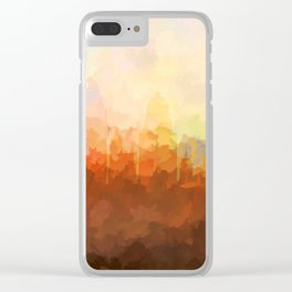 Cincinnati, Ohio Skyline - In the Clouds Clear iPhone Case