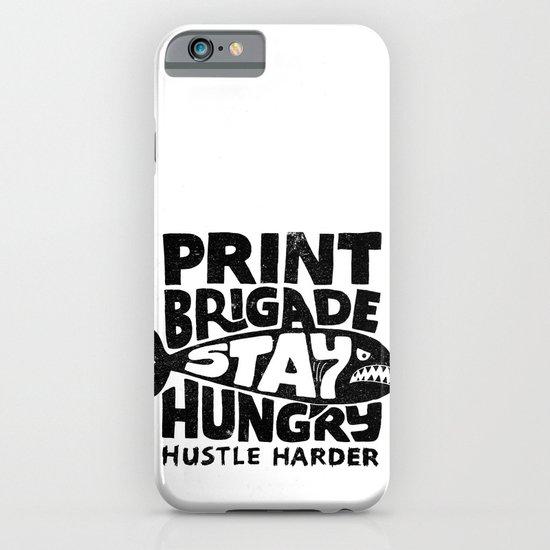 Hustle Harder iPhone & iPod Case
