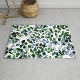 Synergy Blue and Green Rug