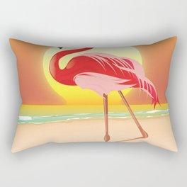Flamingo Rectangular Pillow