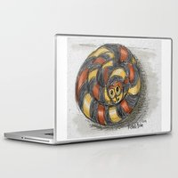 snake Laptop & iPad Skins featuring Snake by Michelle Behar