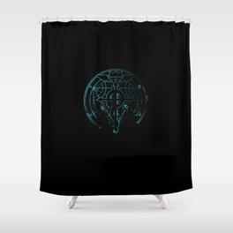 fullmetal alchemist blue Shower Curtain