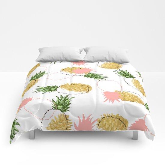 Pineapples Pine Cones Society6 Decor Buyart