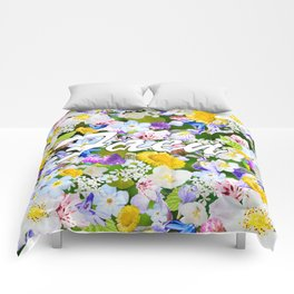 Flower Mess - Faen Comforters