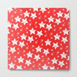 Twinkle little star - red Metal Print