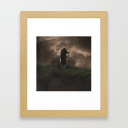 A Force to be Reckened With Framed Art Print