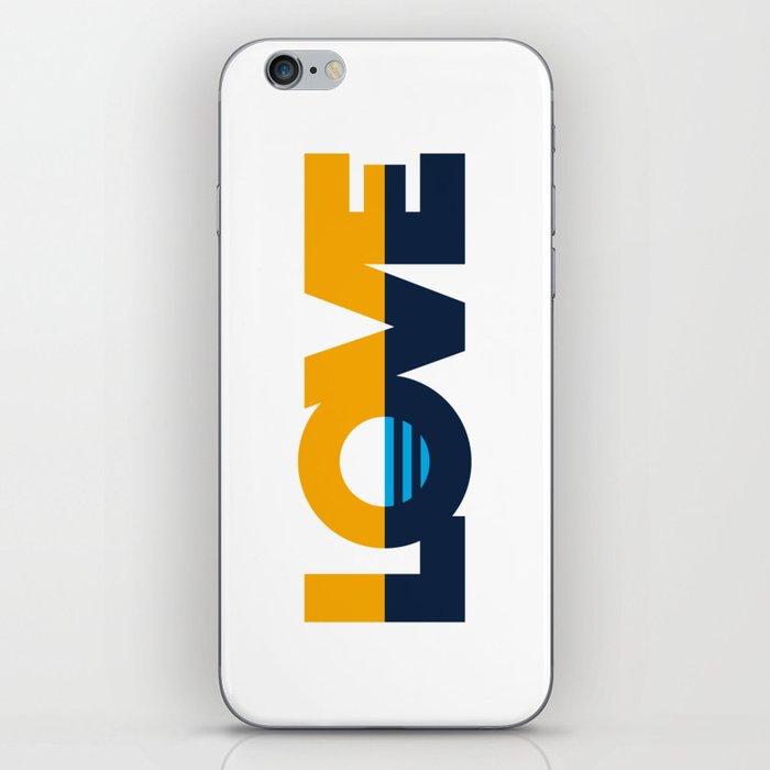 LOVE - People's Flag of Milwaukee iPhone Skin