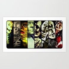 Monster Models 2013 Art Print