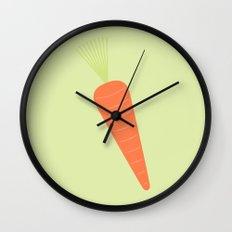#66 Carrot Wall Clock