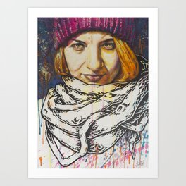 WeAreGroot Art Print