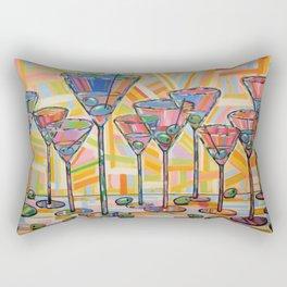 Martini Hour Rectangular Pillow