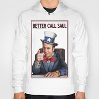 better call saul Hoodies featuring Better Call Saul by Magdalena Almero