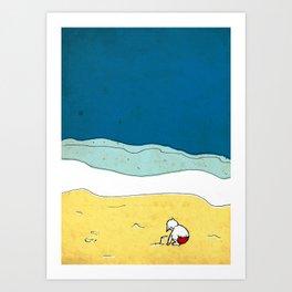 past summers Art Print