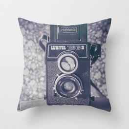 Lubitel Throw Pillow
