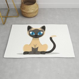 Lazy, the cats Rug