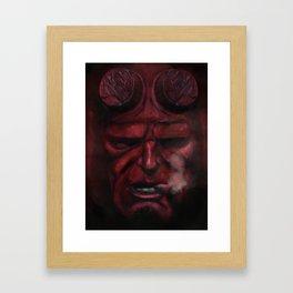 Hell Boy - 2015 Framed Art Print