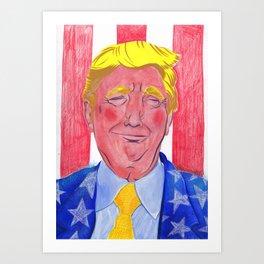 Trump! 2.0 Art Print
