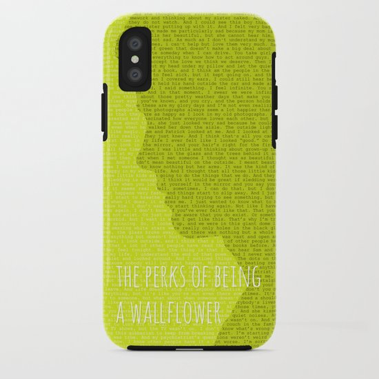 695a372b59b The Perks of Being a Wallflower iPhone Case by justified