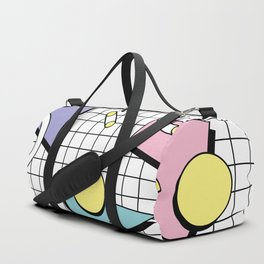 Memphis Pattern 26 - 80s - 90s Retro / Geometric Duffle Bag