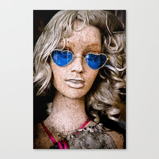 Aged Beauty Canvas Print