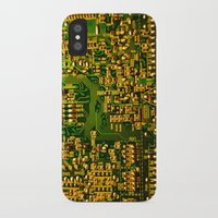 tv iPhone & iPod Cases featuring Television by StevenARTify