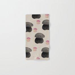 Black mushroom Hand & Bath Towel