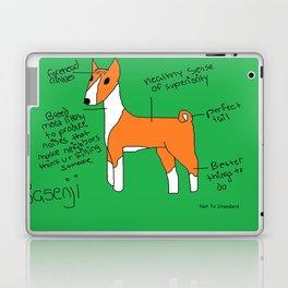 Basenji Laptop & iPad Skin