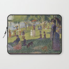 Georges Seurat's A Sunday Afternoon on the Island of La Grande Jatte Laptop Sleeve