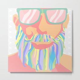 Magic Beard Metal Print