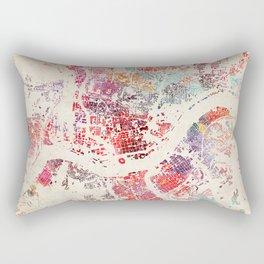 cincinnati map Rectangular Pillow
