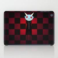 demon iPad Cases featuring Demon by Daniela Jiménez
