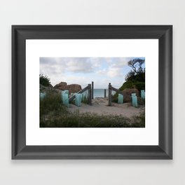 South End Framed Art Print